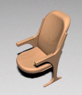 imagen Butaca 3d, en Cines y auditorios - Muebles equipamiento