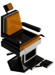 Butaca peluqueria 3d, en Butacas – Muebles equipamiento
