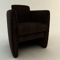 Butaca sala, en Sillones 3d – Muebles equipamiento