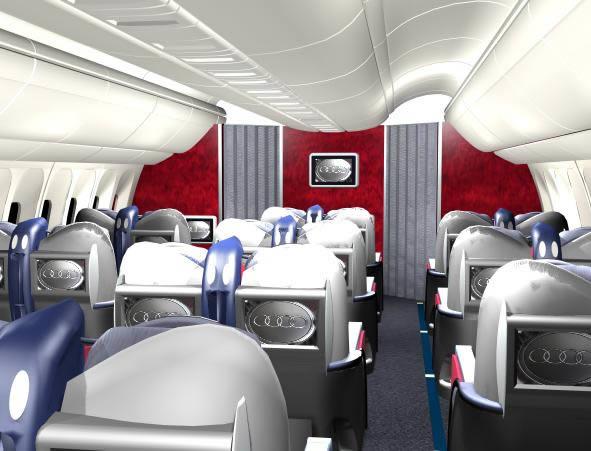 Cabina avion b767-300 3d, en Aeronaves en 3d – Medios de transporte