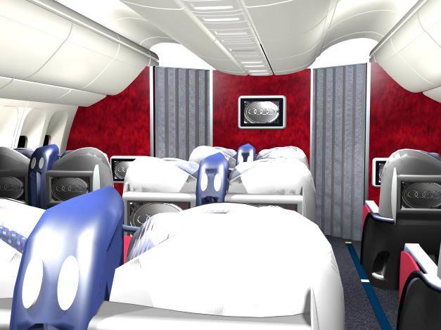Cabina avion b767 3d, en Aeronaves en 3d – Medios de transporte