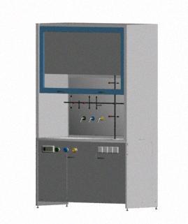 Cabina de reaccion 3d, en Oficinas y laboratorios – Muebles equipamiento