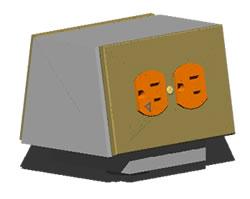 Planos de Caja conectora portatil, en Electricidad – Instalaciones