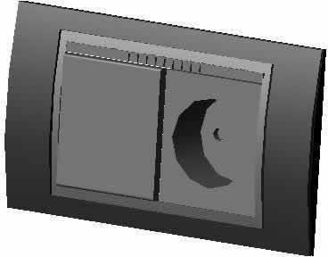 imagen Caja de luz 3d, en Electricidad - Instalaciones