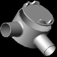 Planos de Caja gual, en Válvulas tubos y piezas – Máquinas instalaciones
