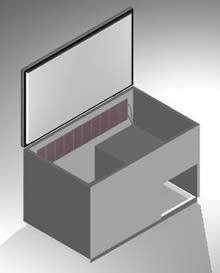 Planos de Cajón para pelco de refrigeración 3d, en Supermercados y tiendas – Muebles equipamiento