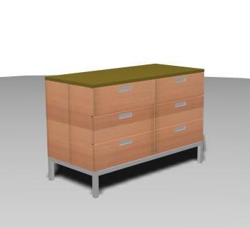 Cajonera 3d, en Estanterías y modulares – Muebles equipamiento