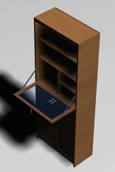 imagen Cajonera 3d, en Estanterías y modulares - Muebles equipamiento