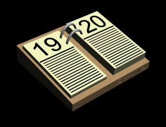 Calendario.3ds, en Objetos varios – Muebles equipamiento