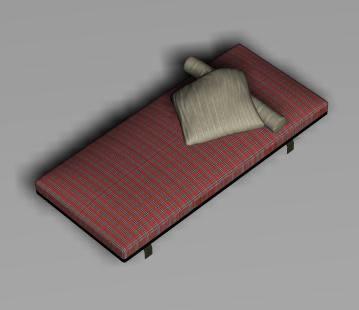 Cama 3d, en Dormitorios – Muebles equipamiento