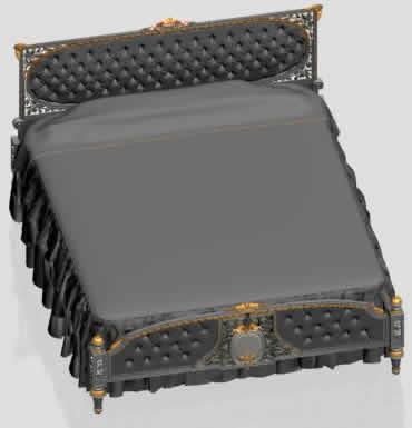 imagen Cama 3dmax, en Dormitorios - Muebles equipamiento