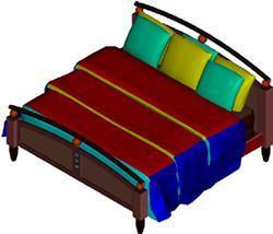 Planos de Cama, en Dormitorios – Muebles equipamiento