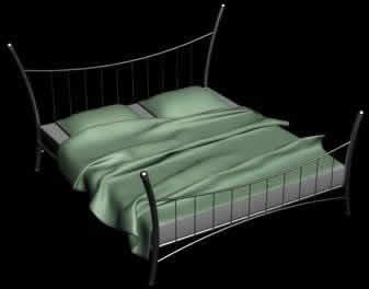 Cama, en Dormitorios – Muebles equipamiento