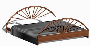 Planos de Cama matrimonial, en Dormitorios – Muebles equipamiento