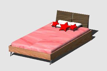 Planos de Cama semidoble para adolescente, en Dormitorios – Muebles equipamiento