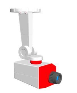 imagen Camara de vigilancia 3d, en Informática - Muebles equipamiento