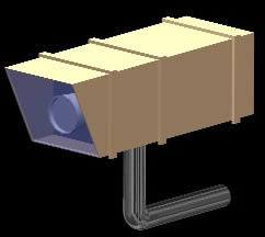 Planos de Camara de vigilancia exterior 3d, en Seguridad y control de acceso – Muebles equipamiento