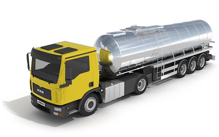 imagen Camion 3d, en Automóviles en 3d - Medios de transporte