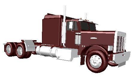 Planos de Camion 3d, en Camiones – Medios de transporte