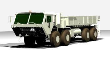 Camion 3d modelo hemtt_l, en Camiones – Medios de transporte