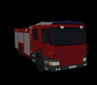 Planos de Camion bomberos 3d, en Camiones – Medios de transporte
