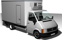 imagen Camión refrigerador, en Utilitarios - Medios de transporte