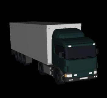 imagen Camion scania 5 ejes 3d, en Camiones - Medios de transporte