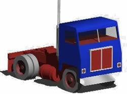 Planos de Camión sin carroceria 3d, en Camiones – Medios de transporte