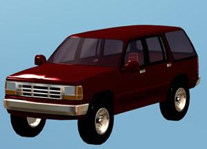 Camioneta 3d, en Automóviles en 3d – Medios de transporte