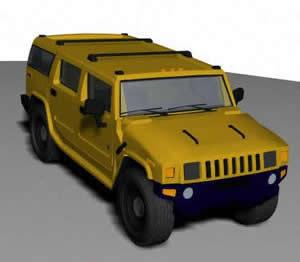 Camioneta 3d, en Utilitarios – Medios de transporte