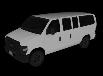 imagen Camioneta 3d, en Utilitarios - Medios de transporte