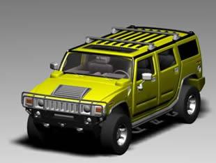 imagen Camioneta 4x4 3d, en Utilitarios - Medios de transporte