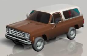 Camioneta chevrolet 3d, en Utilitarios – Medios de transporte