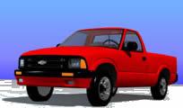 Planos de Camioneta chevy blazer, en Utilitarios – Medios de transporte