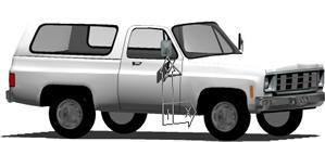 Planos de Camioneta, en Automóviles en 3d – Medios de transporte
