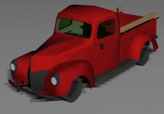 Camioneta ford-40 3d, en Utilitarios – Medios de transporte
