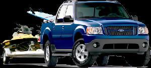 Camioneta ford, en Automóviles – fotografías para renders – Medios de transporte