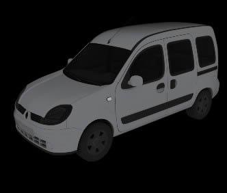 imagen Camioneta renault modelo 3d max, en Automóviles en 3d - Medios de transporte