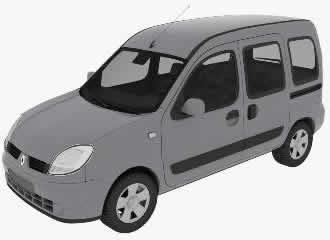 imagen Camioneta seat 3d, en Utilitarios - Medios de transporte