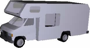 Camper familiar 3d, en Automóviles en 3d – Medios de transporte