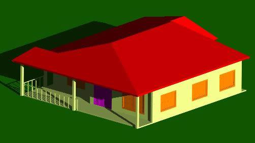 imagen Campestre 3d, en Vivienda unifamiliar 3d - Proyectos