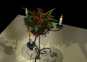 Planos de Candelabro, en Luminarias – Electricidad iluminación