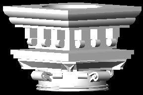 imagen Capitel 3d, en 5 órdenes de la arquitectura griega - Historia