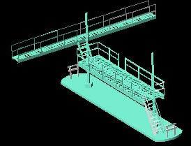 Planos de Cargadero de gasolina para cisternas, en Gas y combustibles – Infraestructura