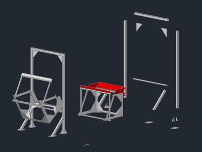 Planos de Cargador de dinos, en Maquinaria e instalaciones industriales – Máquinas instalaciones