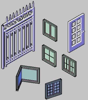 imagen Carpinteria en 3d, en Puertas 3d - Aberturas