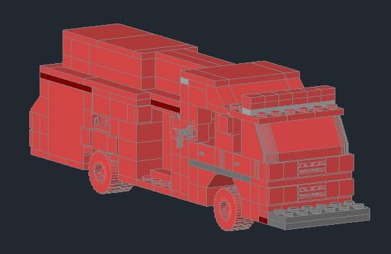 Planos de Carro bombero – lego, en Juegos – Muebles equipamiento