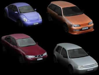Carros 3ds, en Automóviles en 3d – Medios de transporte