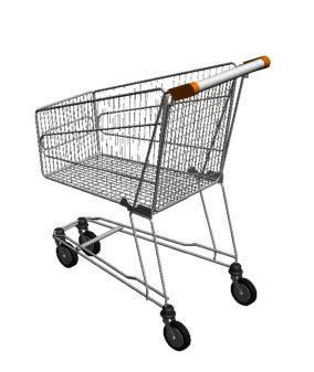 Carrosupermercado 80l. 3d, en Supermercados y tiendas – Muebles equipamiento