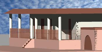 Planos de Casa 3d con cochera, en Vivienda unifamiliar 3d – Proyectos